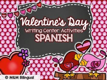 What's Included: 18 picture/word cards for center - Print these out, cut, and laminate so students can use during Daily 5 or writing workshop center.   6 different lists for students to complete -Students will create a list on different topics. This helps with the writing process: brainstorming and prewriting.  4 different styles for Valentine's Cards -Using the vocabulary, students will create a cute 	Valentine's Day       card (having fun while still writing)   4 sentence builders -Cut ...