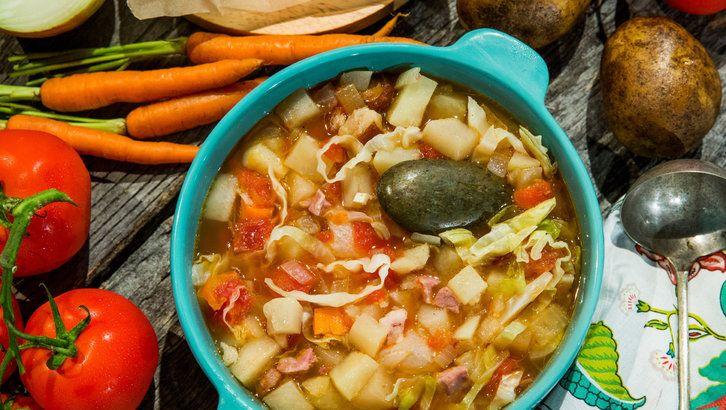 Recipe - Dolly Parton's Stone Soup | Home & Family | Hallmark Channel