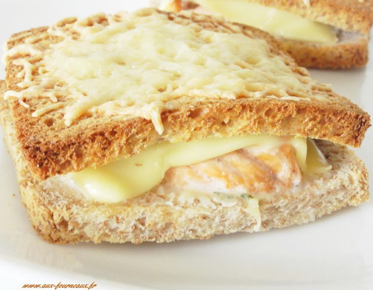 croque monsieur saumon boursin