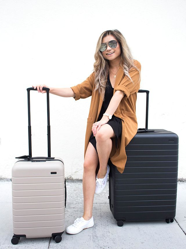Away Luggage Review Carry On Bigger Carry On And Large Luggage Reviews Suitcase Luggage Away Carry On