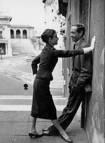 Rare Audrey Hepburn — Audrey Hepburn and husband Mel Ferrer...