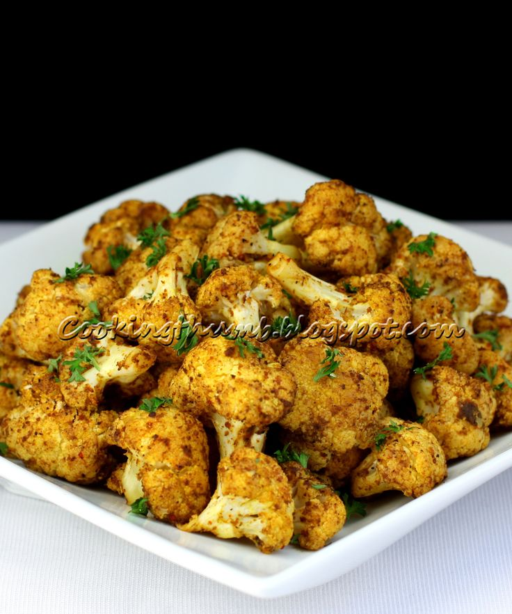 Cooking thumb baked spiced cauliflower a simple quick for Easy side dishes to make
