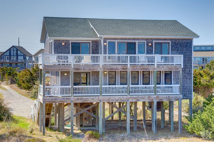 Breakers 761 hatteras island outer banks vacation for Hatteras cabins rentals