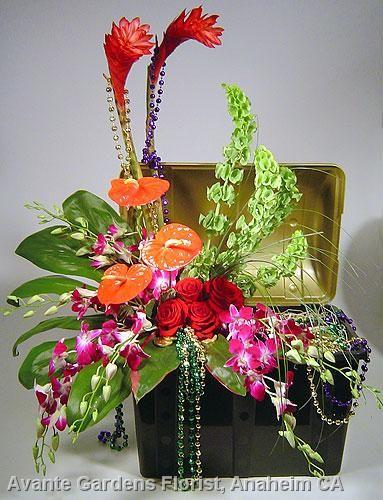 Large Flower Arrangement Ideas | It's a Pirates of the Caribbean Flower Arrangement, Matey