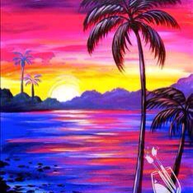 Beautiful Paint 335 best beach/summer canvas painting images on pinterest | canvas