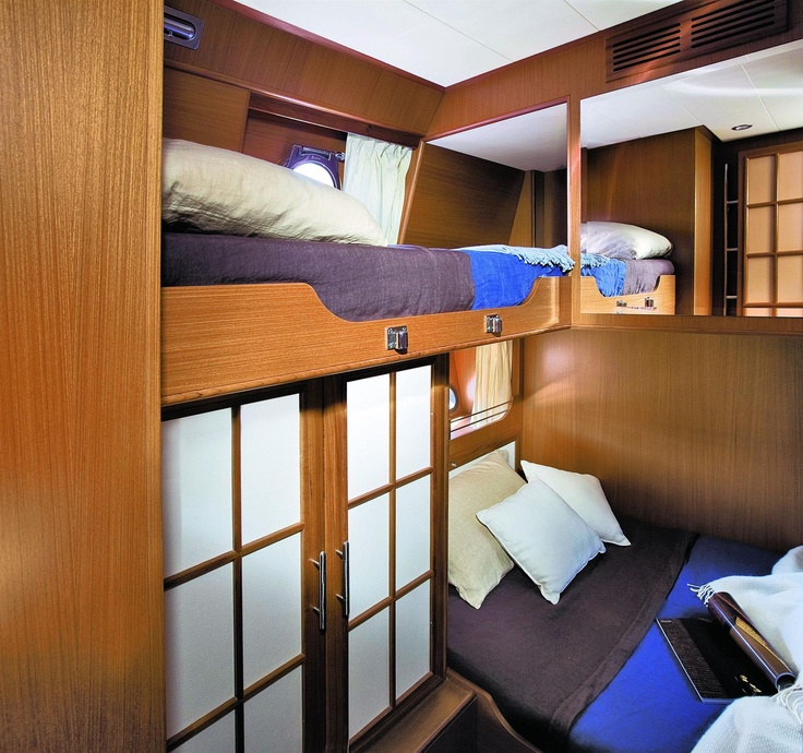Internal view Mochi Craft – Dolphin 54′ Sun Top #yacht #luxury #ferretti #mochi