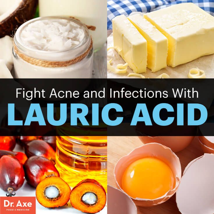 Fight Acne and Infections with Lauric Acid - Dr. Axe