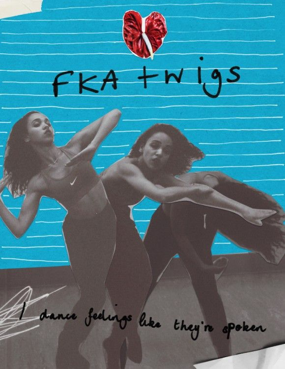 Collages by FKA twigs. - Rookie Interview
