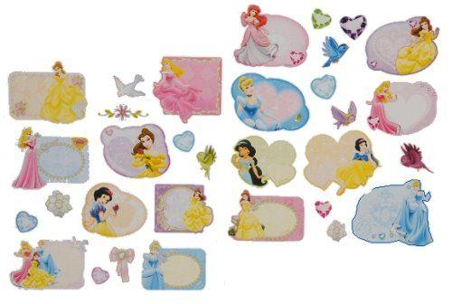 33 Stk. Sticker für Hefte Heftetiketten Princess - Etiketten Aufkleber Heft - Namenssticker / Namensetiketten - Name Schulhefte: Amazon.de: Spielzeug
