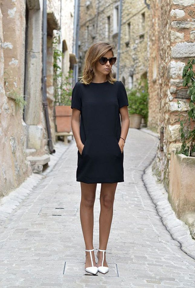 Wear a LBD for date night.