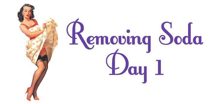 Removing Soda - Day 1