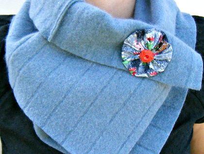 Beautiful scarf - reclaimed wool For sale in my Felt shop https://cherryberry.felt.co.nz