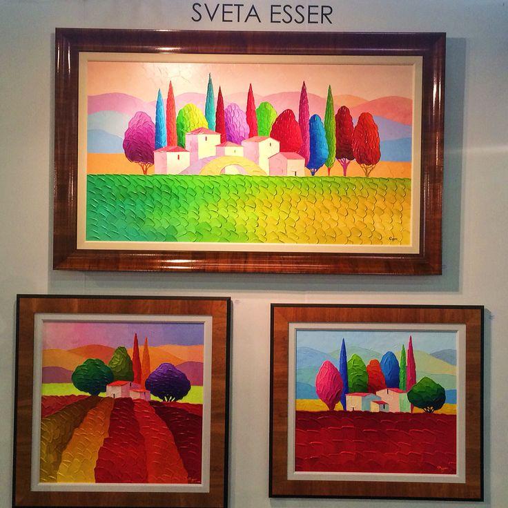 Sveta Esser at Art Expo NY 2016