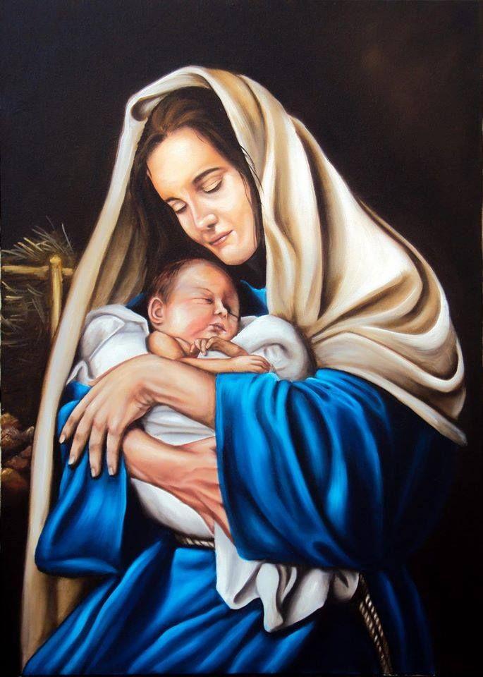 Maria com menino Jesus