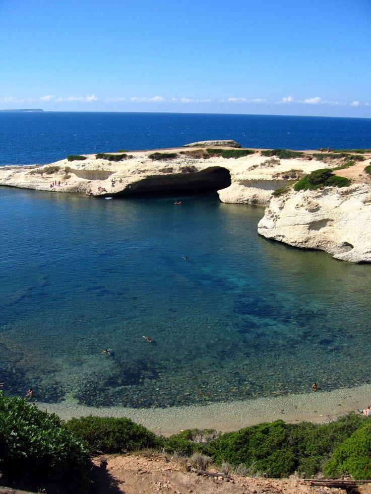 West Sardinia S'Archittu [the arch]  Oristano
