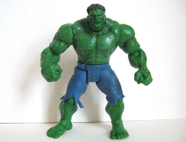 "The hulk #movie #action #figure with punching #action - 7"" - 2003,  View more on the LINK: 	http://www.zeppy.io/product/gb/2/222369325155/"
