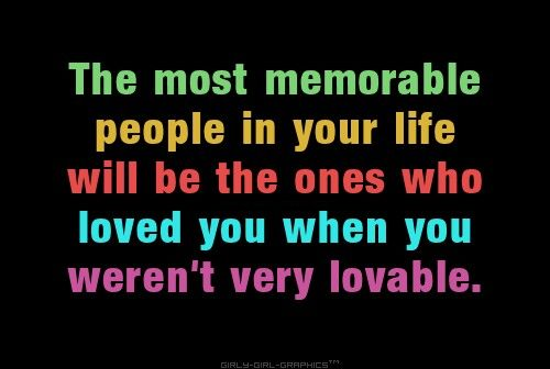 The most memorable people