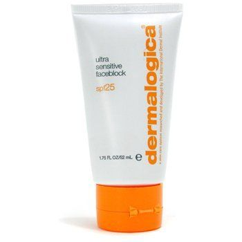 Ultra Sensitive FaceBlock SPF25 ( Naturally Tinted ) - Dermalogica - Sun Care - Face - 50ml/1.7oz by Dermalogica. Save 23 Off!. $42.05. 50ml/1.7oz. This facial sunblock intensely strengthens skin without irritating chemicals Naturally-tinted micronized particles screen away damaging sunrays Anti-inflammatory botanical extracts soothe skin Antioxidant vitamins fight against free radicals to prevent premature aging Fragrance free. Ideal for sensitive skin - Dermalogica - Sun Ca...