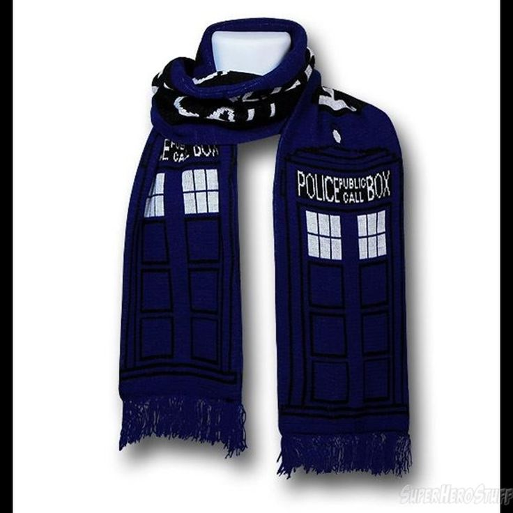 Images of Doctor Who Tardis Scarf