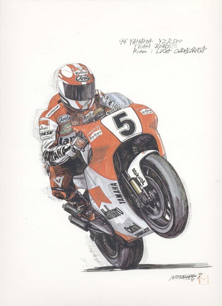 Great motorcycle artwork.