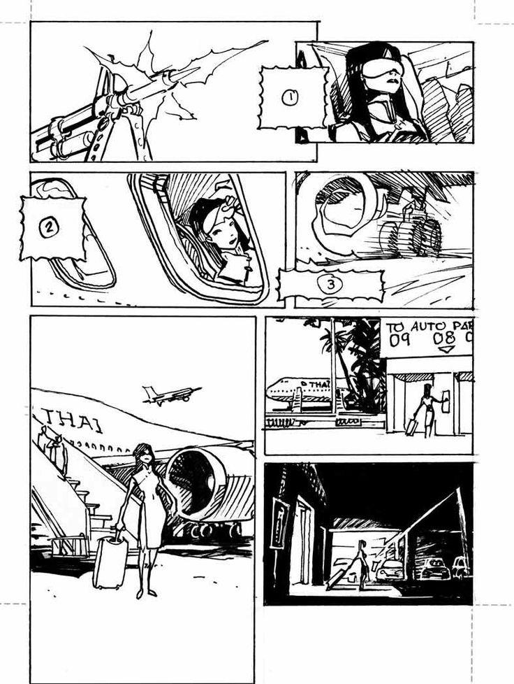 by Olivier Vatine #Comics