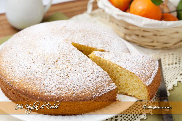 Torta di mandarini soffice- Ho Voglia di Dolce blog