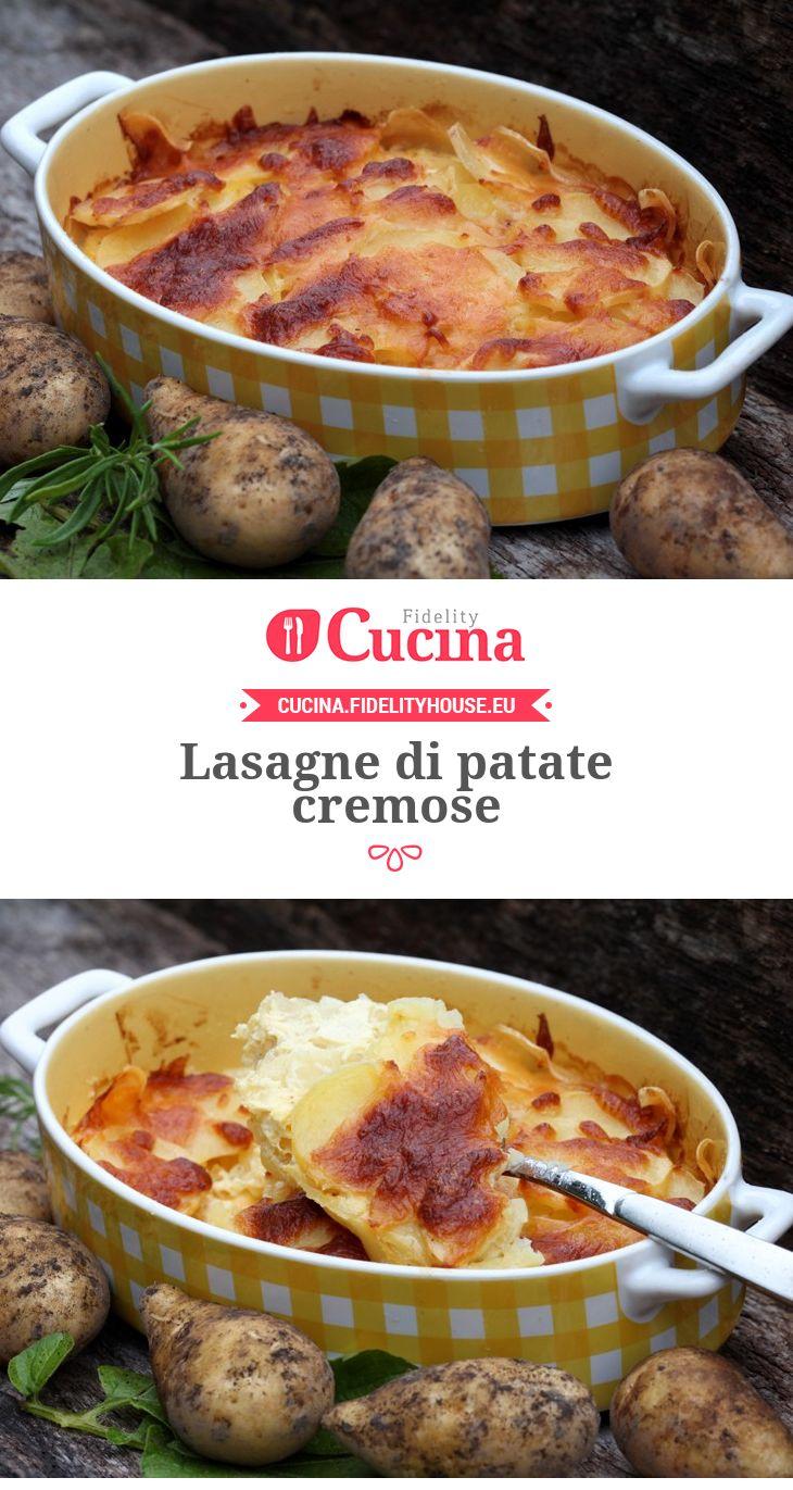 #Lasagne di #patate cremose