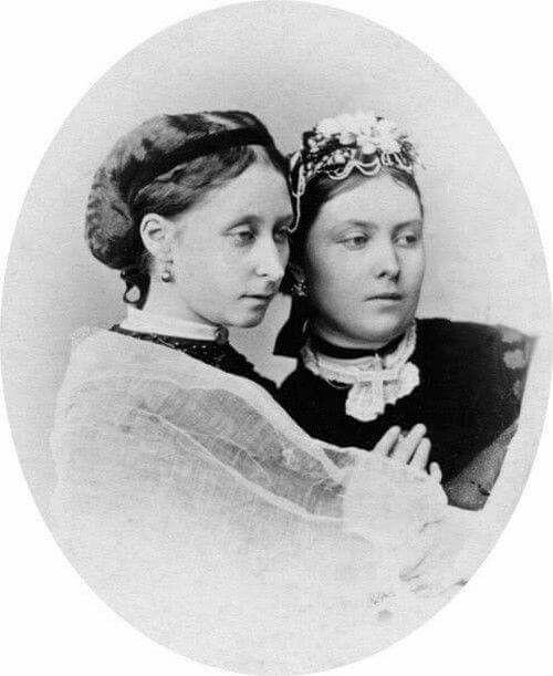 Princesses Alice and Victoria of the United Kingdom - Daughters of Victoria & Albert