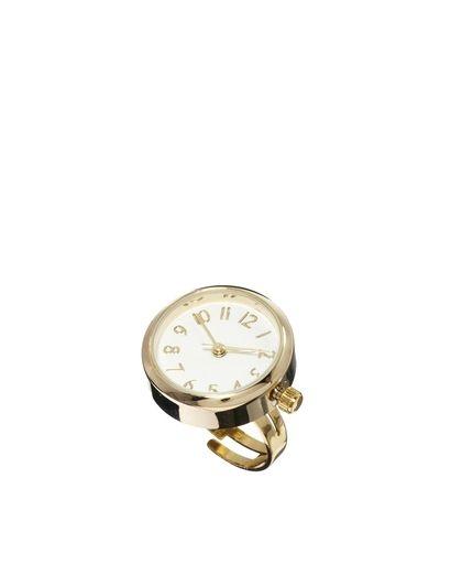 Pierścionek - zegarek / ASOS Round Ring Watch