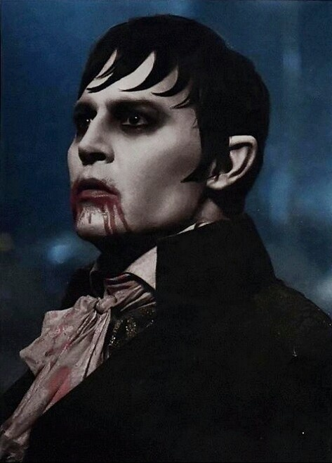 Dark Shadows - Johnny Depp as Barnabas Collins. I can't believe I never watched this Burton film before. Much better than expected, great cast, and probably my favorite Depp performance.