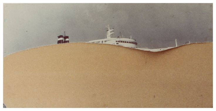 "Luigi Ghirri - from ""Kodachrome"" - now at Matthew Marks Gallery"