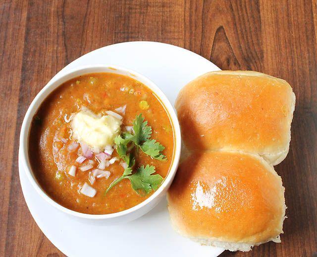 Paav bhaji..an awesomee snack of mumbai..!!
