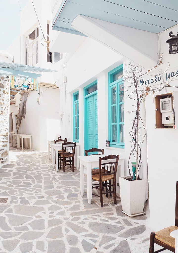 Naxos is the largest island of Cyclades and it is located in the center of this complex, between Paros and Mykonos. #travel #touridea  www.covetlo.com