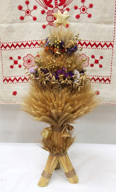 """Didukh"""" - is a Ukrainian Christmas decoration, that was being made out of  the last wheat harve… 