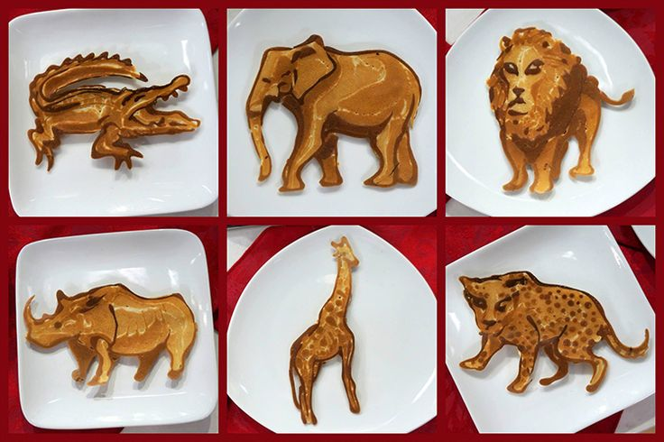 Nathan Shields of Saipancakes Visits the 'TODAY' Show & Creates Pancake Sculptures of African Animals & News Anchors