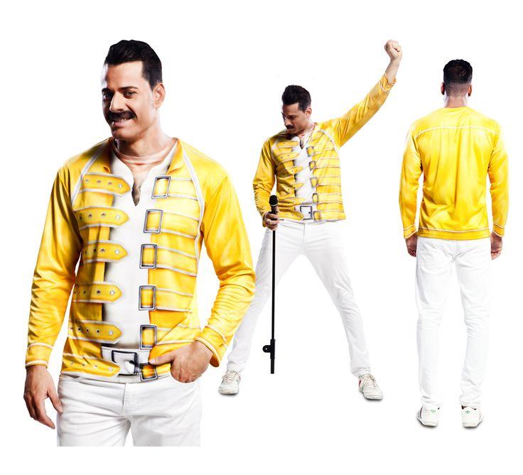 #Camiseta #Disfraz de #Mercury para el #DíadelPadre. #fathersday #costume #gift #regalo #freddymercury