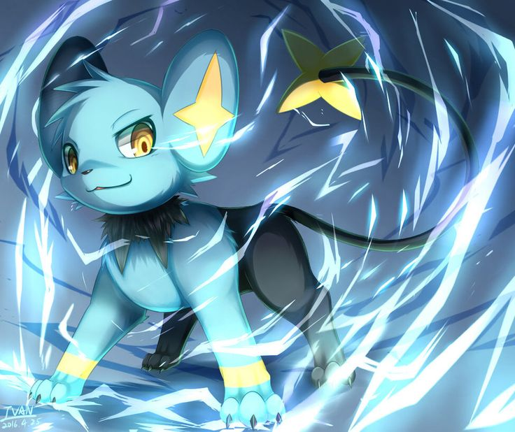 Cool artwork of Shinx :)