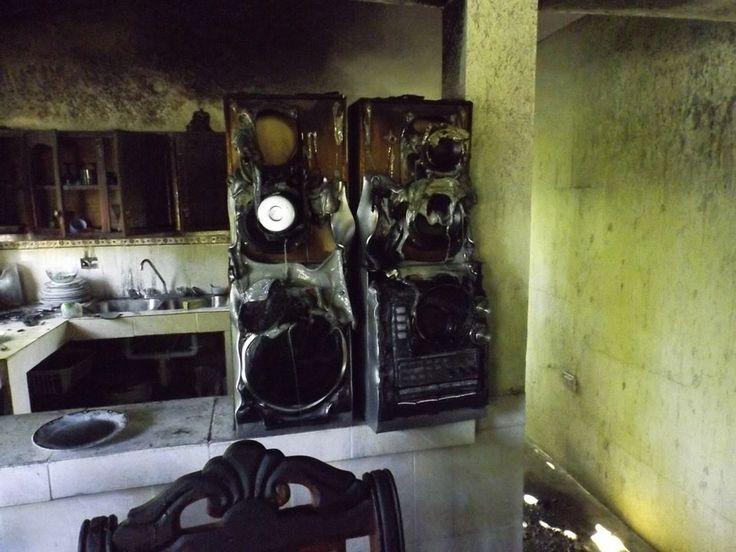 Incendio por un corto circuito afecta unavivienda en Manzanillo