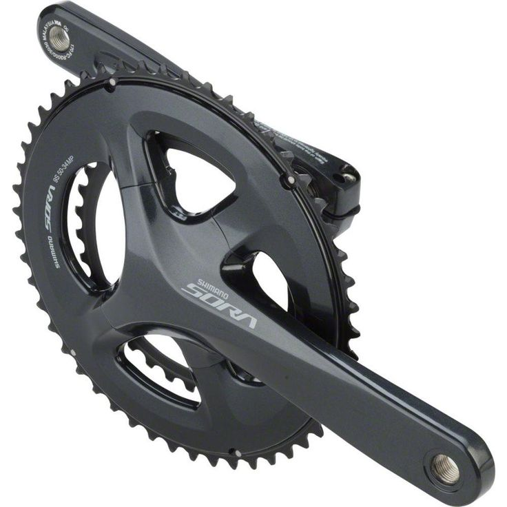NEW Shimano Altus M311 28x38x48t 7//8spd 175mm Square Crankset withGuard Black