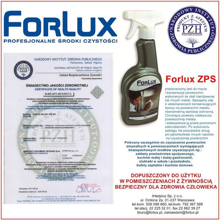Środki czystości, chemia profesjonalna. Najwyższa jakość i niskie ceny. | Forlux