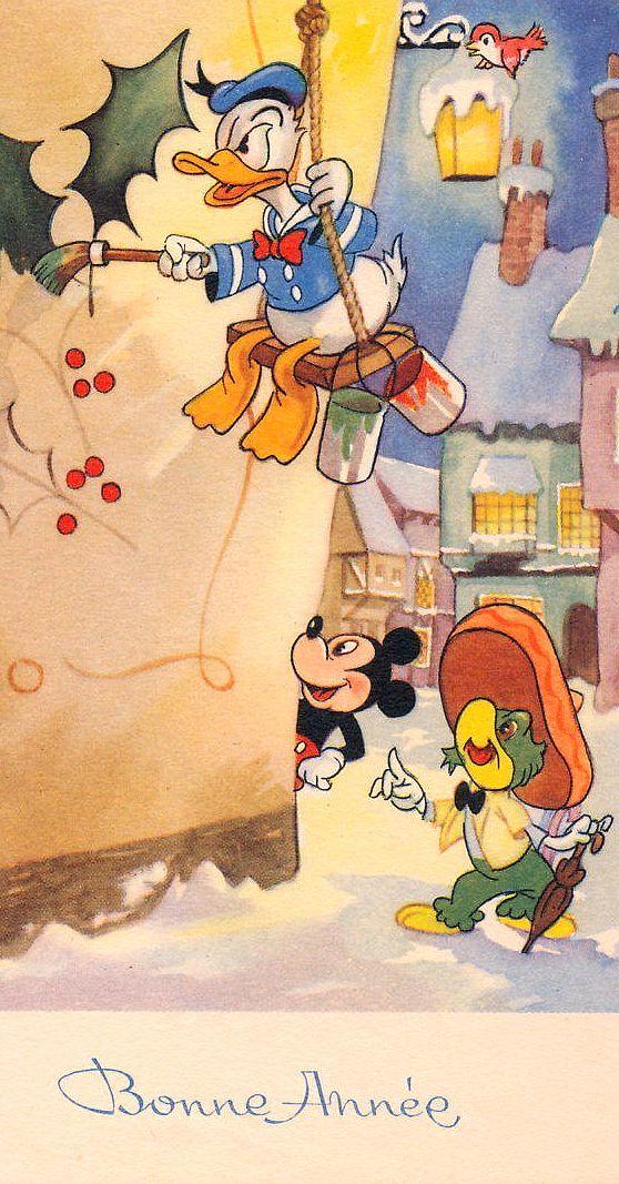 Mickey, Donald and Jose Carioca