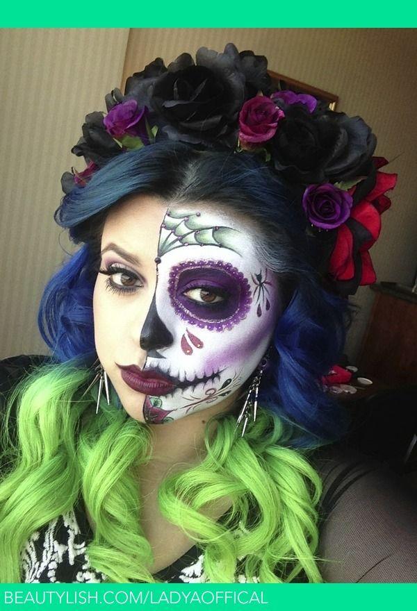 Dia De Los Muertos/Day Of The Dead | Angie M.'s (ladyaoffical) Photo | Beautylish