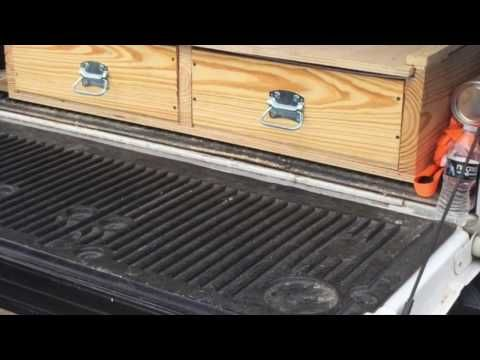 How To Build Truck Bed Storage System - YouTube