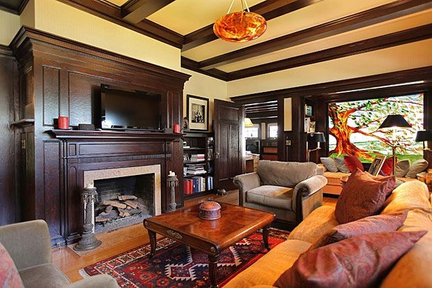 stain wood paneled walls - Google Search