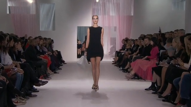 Capture and share the looks from the Dior ready-to-wear Spring-Summer 2013 collection by Raf Simons online