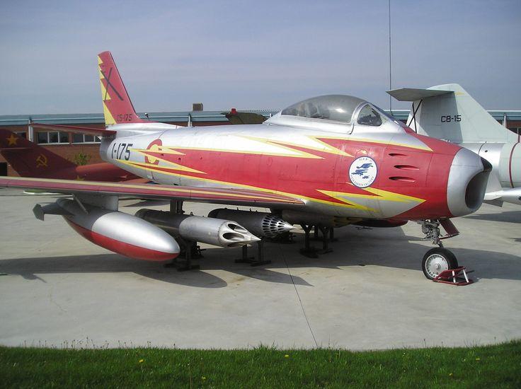 F-86 Spanish Air Army, Ember Patrol, Cuatro Vientos, Madrid