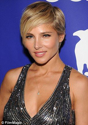 Then and now: Actress Elsa Pataky has proven to be quite the style chameleon as retro phot...