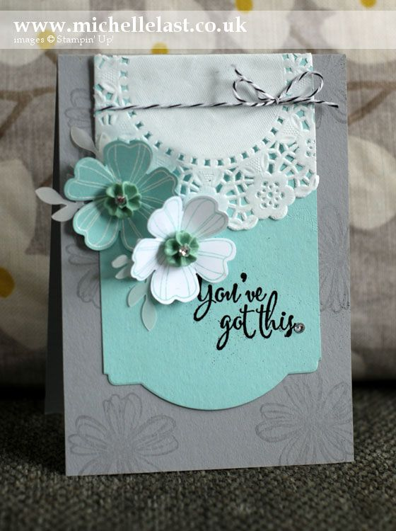 Flower Shop from Stampin' Up! - Stampin' Up! Demonstrator Michelle Last