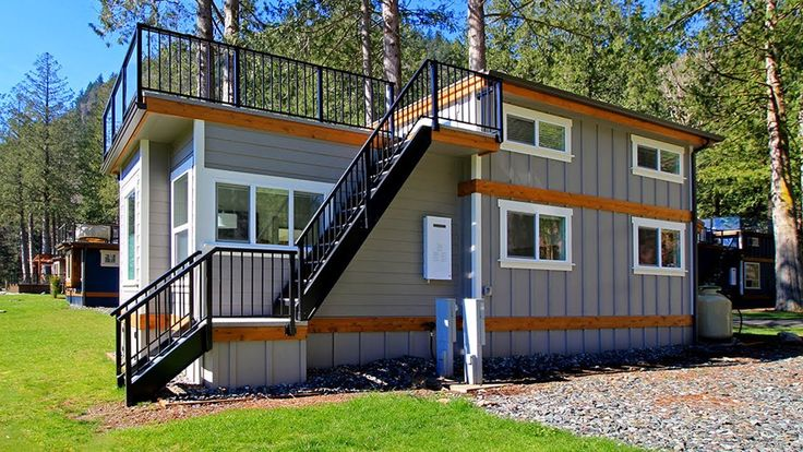 Gorgeous Bellevue Park Model Tiny House by West Coast Homes