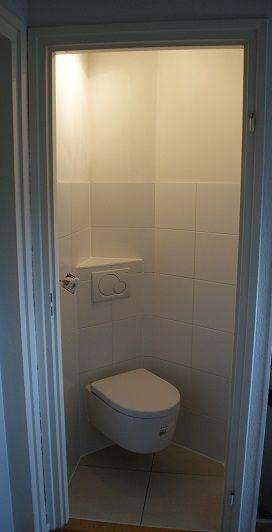 toilet in kleine wc ruimte